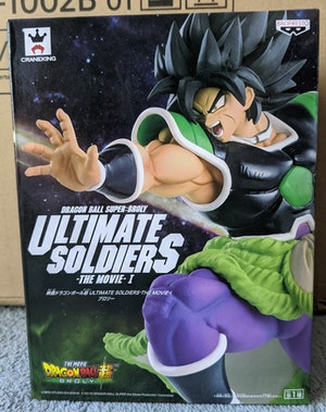 Dragon Ball Super: Broly - Wrathful Broly Ultimate Soldiers - The Movie I Figure