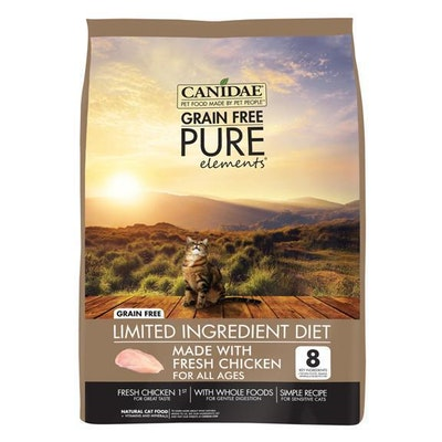 Canidae Grain Free Pure Elements Adult Cat Food Chicken - 3 Sizes