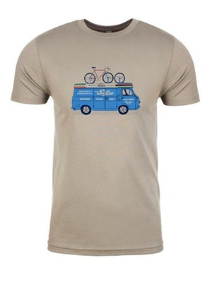 SILCA Team Van Tee Shirt - Light Grey