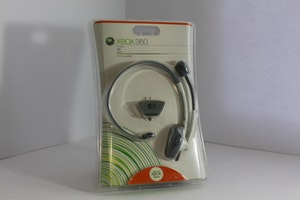 Genuine Microsoft Xbox 360 Wired Headset New Sealed