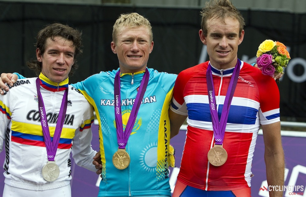 podium 2012 London Games