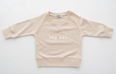 Big Sis Sweater - Latte
