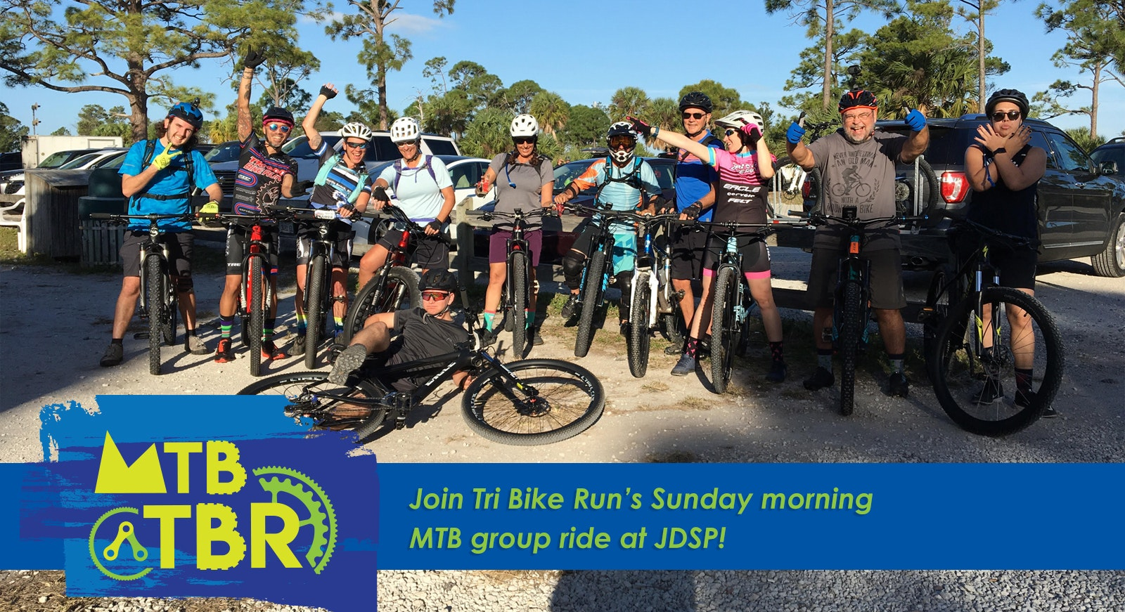 TBR MTB - Join us at Jonathan Dickinson State Park on Sunday mornings at 8:15am