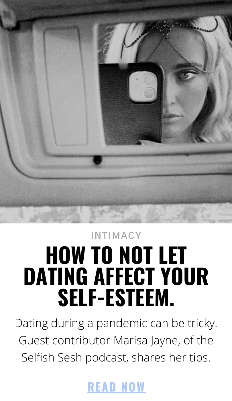 How to note let dating affect your self-esteem