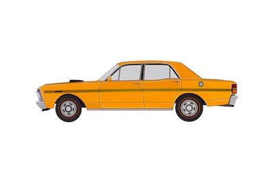 1970 Ford XY Falcon GT 351