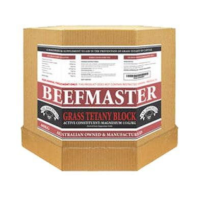Olsson Beef Master Grass Tetany Block Livestock Supplement 15kg