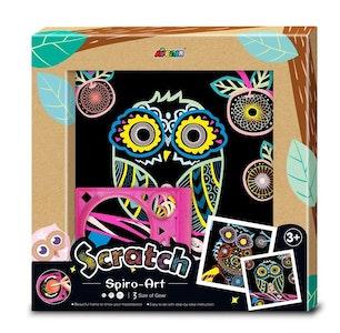 Avenir - Scratch - Spiro Art - Owl