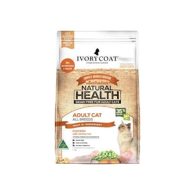 IVORY COAT Grain Free Cat Food Adult Chicken Coconut Oil 6KG