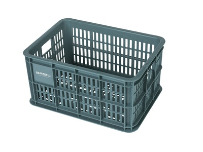 Basil Bicycle Crate Small 25L Seagrass