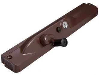 Whitco MK8 chainwinder C4 push to lock brown (MS chain)