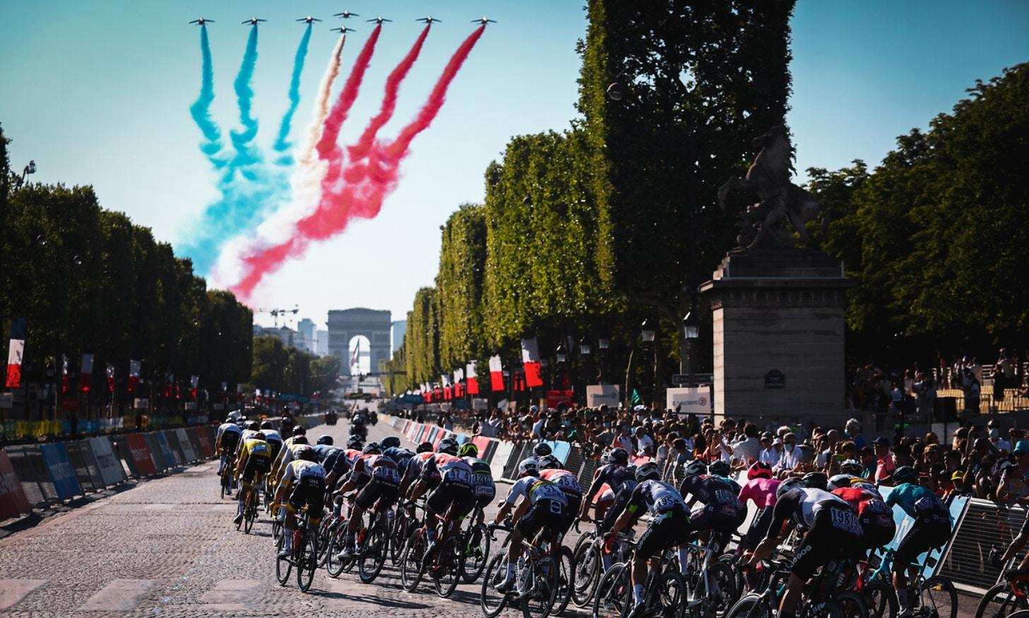 Tour de France 2021: samenvatting van de eenentwintigste etappe