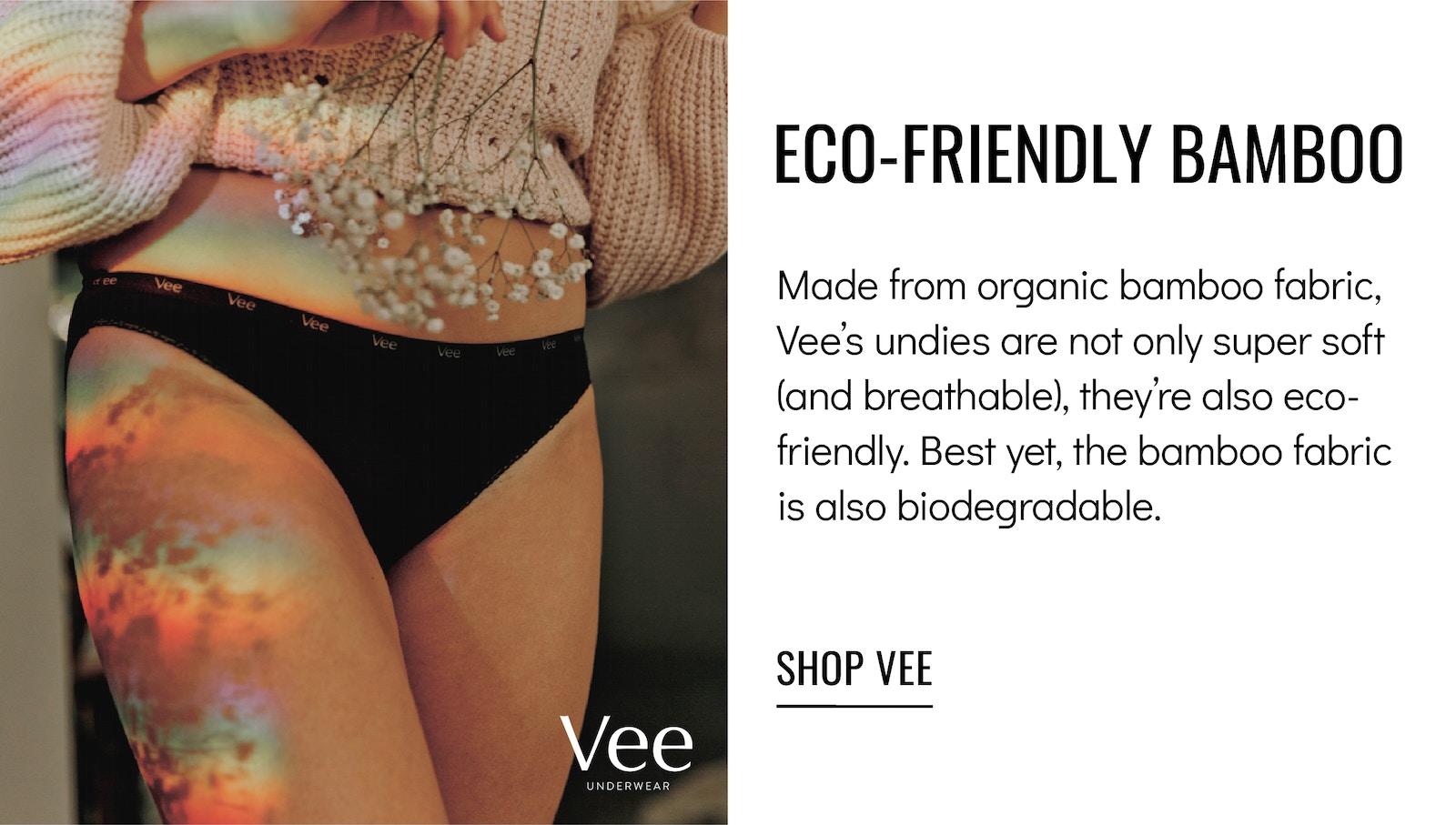 Vee Underwear Eco-friendly Bamboo