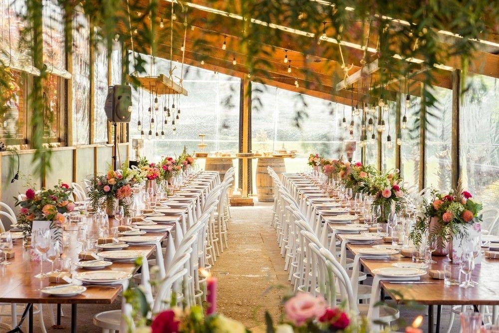 HOLLY AND AARON'S BLOOMITFUL WEDDING