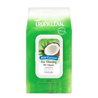 Tropiclean Ear Cleaning Wipes 50 Pack