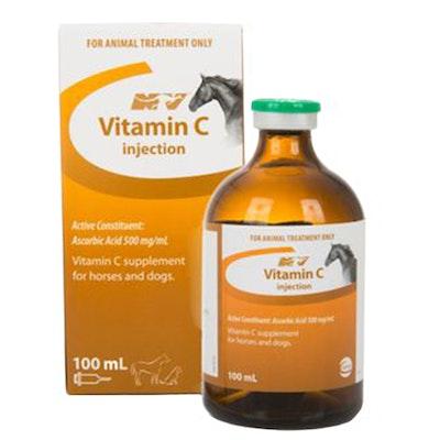 CEVA Vitamin C Supplement Ascorbic Acid Dog Horse 100ml