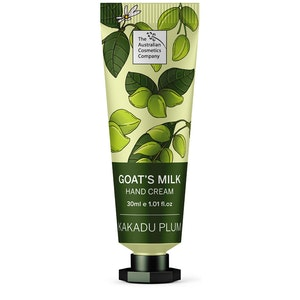 The Australian Cosmetics Company Goats Milk Hand Cream Kakadu Plum 30ml