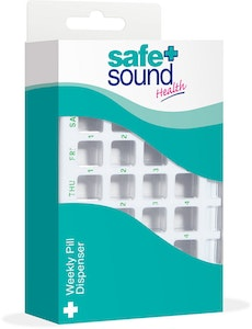 Safe + Sound Weekly Pill Dispenser
