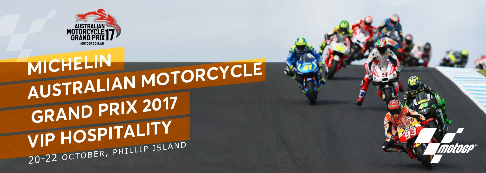 Michelin® Australian Motorcycle Grand Prix 2017 Tickets, Packages & Experiences