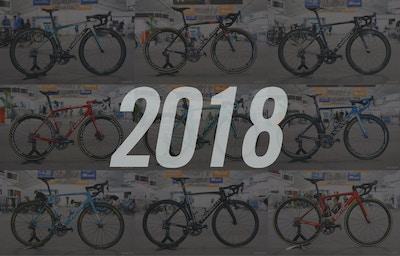De Teamfietsen van de WorldTour 2018 op een rijtje