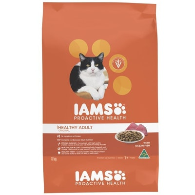 Iams Cat Adult 1+ Proactive Health with Ocean Fish - 2 Sizes