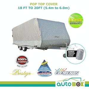 Prestige PopTop Caravan Cover suit Jayco Journey 17.58 UV Waterproof Pop top