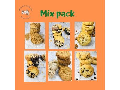 Ketoland Keto cookies mix pack