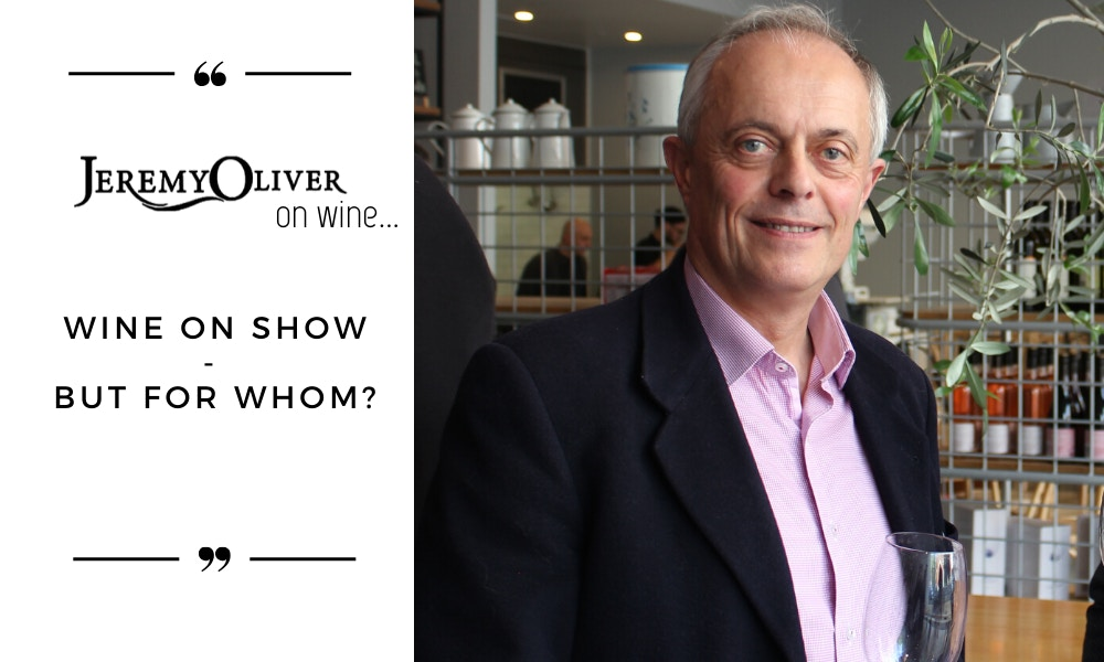 Wine on show – but for whom?