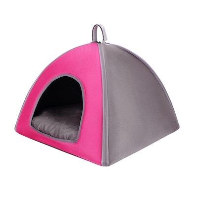 Ibiyaya Pet Tent Bed - Pink