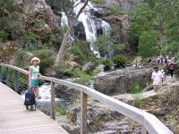MacKenzie Falls, one of four in the river gorge, Grampians