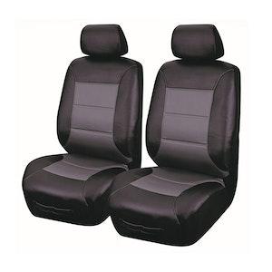 Universal El Toro Series Ii Front Seat Covers Size 30/35 | Black/Grey