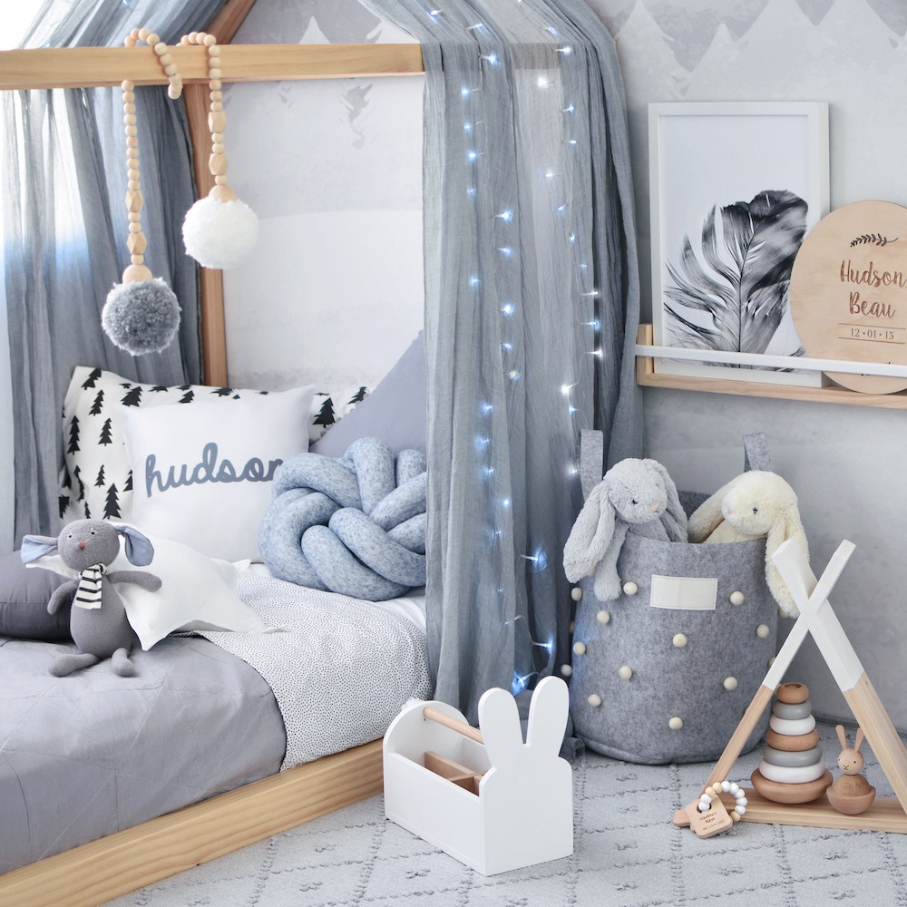 Nordic Toddler Bedroom | Hudson & Harlow