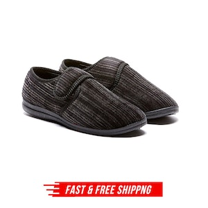 Grosby Thurston Men's Slippers Indoor Outdoor Cord Moccasins Shoes