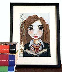 Hermione Granger - Art Print