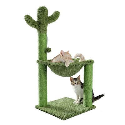 House of Pets Delight Cactus Hammock Cat Tree Scratcher