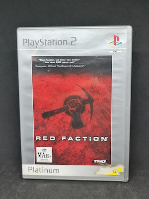 Red Faction PS2 Platinum