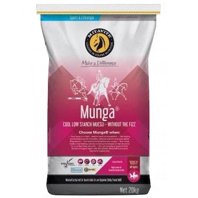 Mitavite Munga Horses & Ponies Low Starch Muesli Feed 20kg
