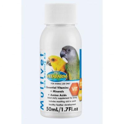Vetafarm Multivet 50ML - Moulting Aid