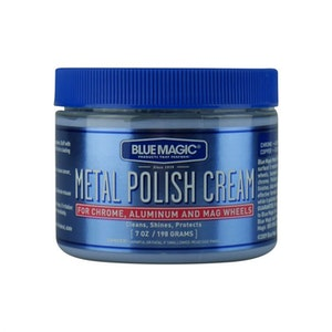 Metal Polish Cream 198g for Chrome Aluminum and Mag Wheels