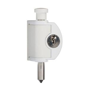 ABUS Mini Push Bolt - White