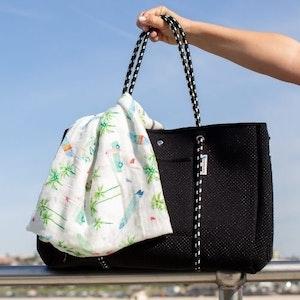 Anchor & Arrow Ultimate Mums Bag - Black Studs