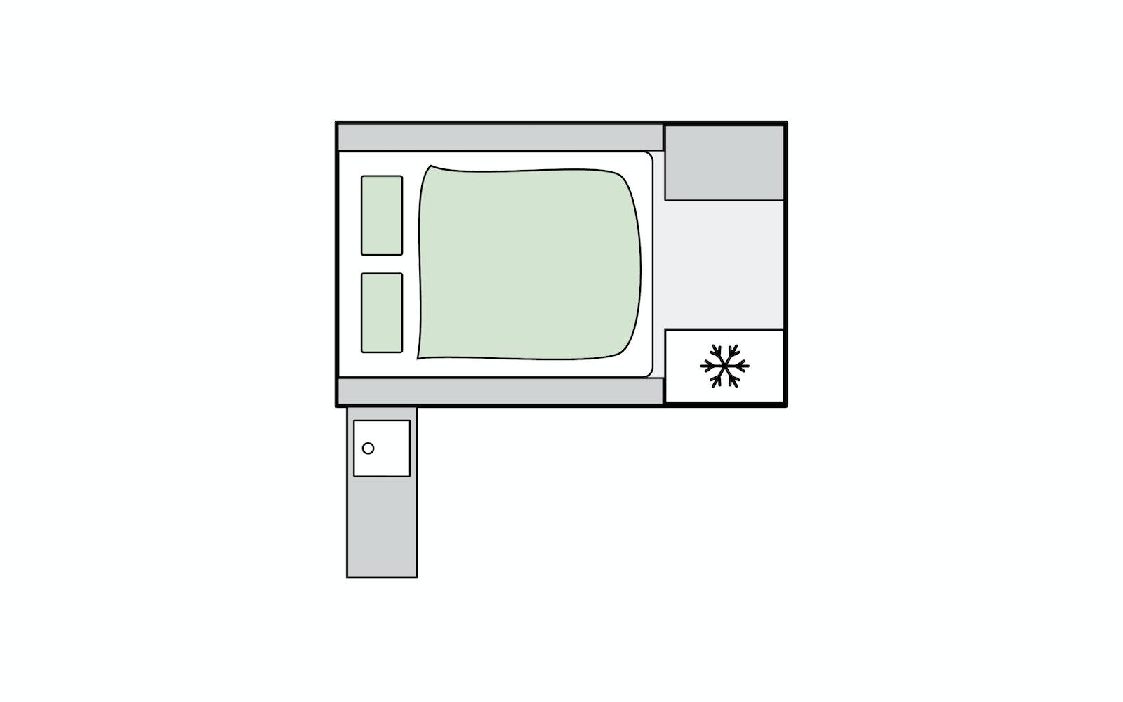 J-Pod Sport Floorplan