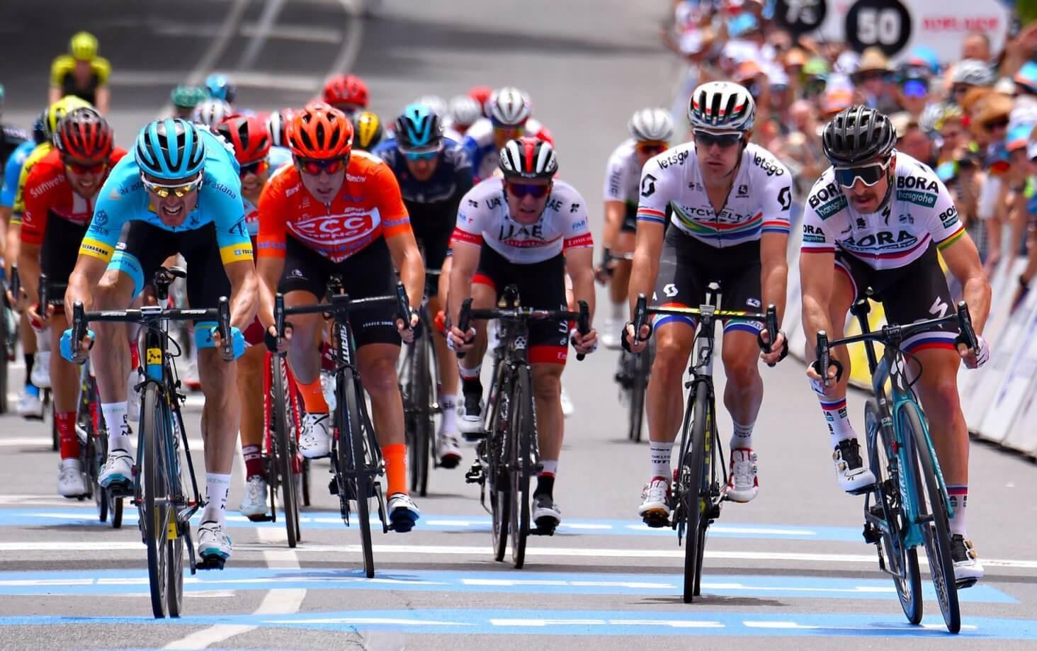 Northwave - L.L Sanchez grazes win at Tour Down Under