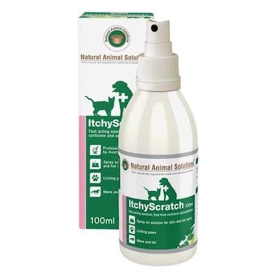 NAS Natural Animal Solutions Itchy Scratch 100ml