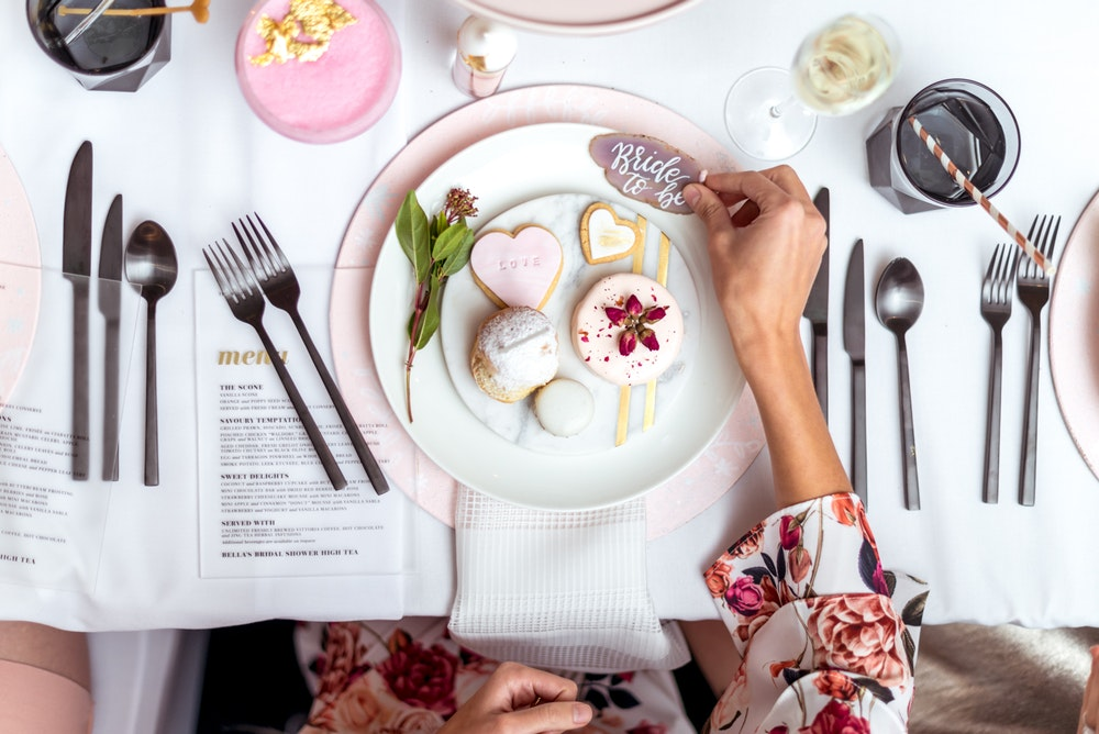 LENZO The Westin Melbourne Pink Bridal Shower