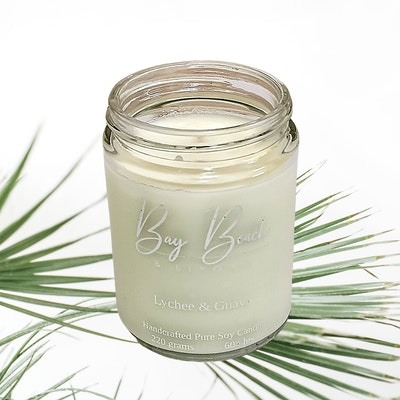 Bay Beach and Beyond Lychee & Guava Everyday Candle Large