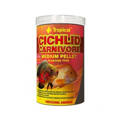 Tropical Cichlid Carnivore Pellet Medium 360G