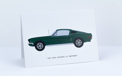 The Ford Mustang GT Fastback