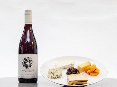Cheese Selection & Red Wine