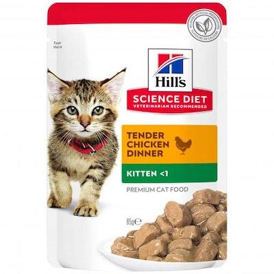 Hills Hill's Science Diet Kitten Chicken Pouches Wet Cat Food 85G