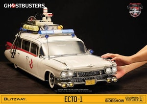 Ghostbusters Ecto-1 1/6 scale vehicle replica with working lights and doors Blitzway Brand New